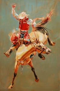 Buckskin and Red