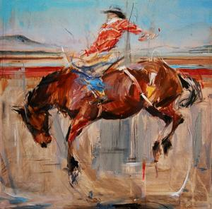 NM Saddle Bronc